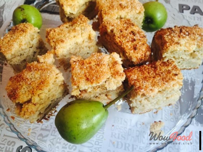 Грушевый пирог с крамблом - аппетитные фото (15)