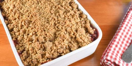 Грушевый пирог с крамблом - аппетитные фото (3)