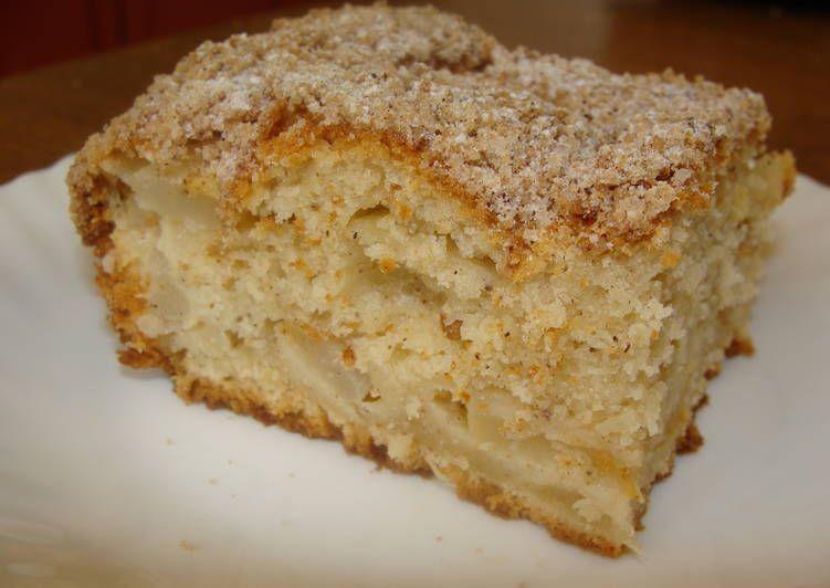 Грушевый пирог с крамблом - аппетитные фото (8)
