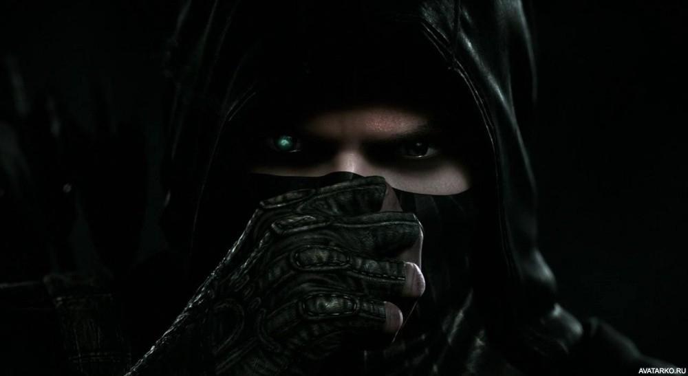 Девушка в маске фото на аву в ВК012