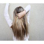 Девушка сзади фото на аву с русыми волосами