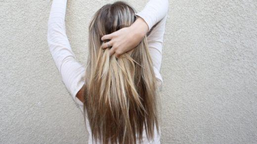 Девушка сзади фото на аву с русыми волосами011