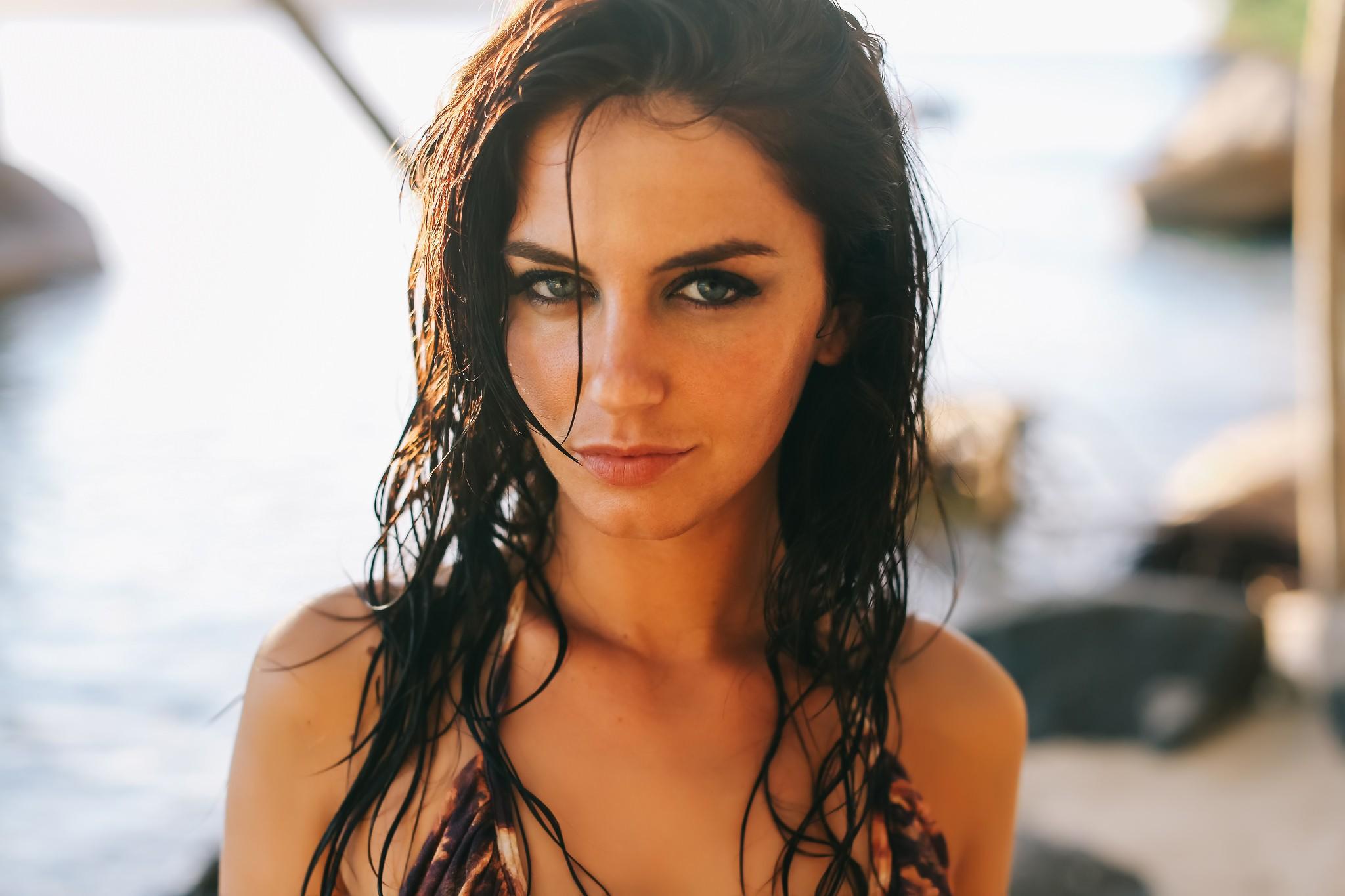 Девушки с мокрыми волосами   красивые фото (12)
