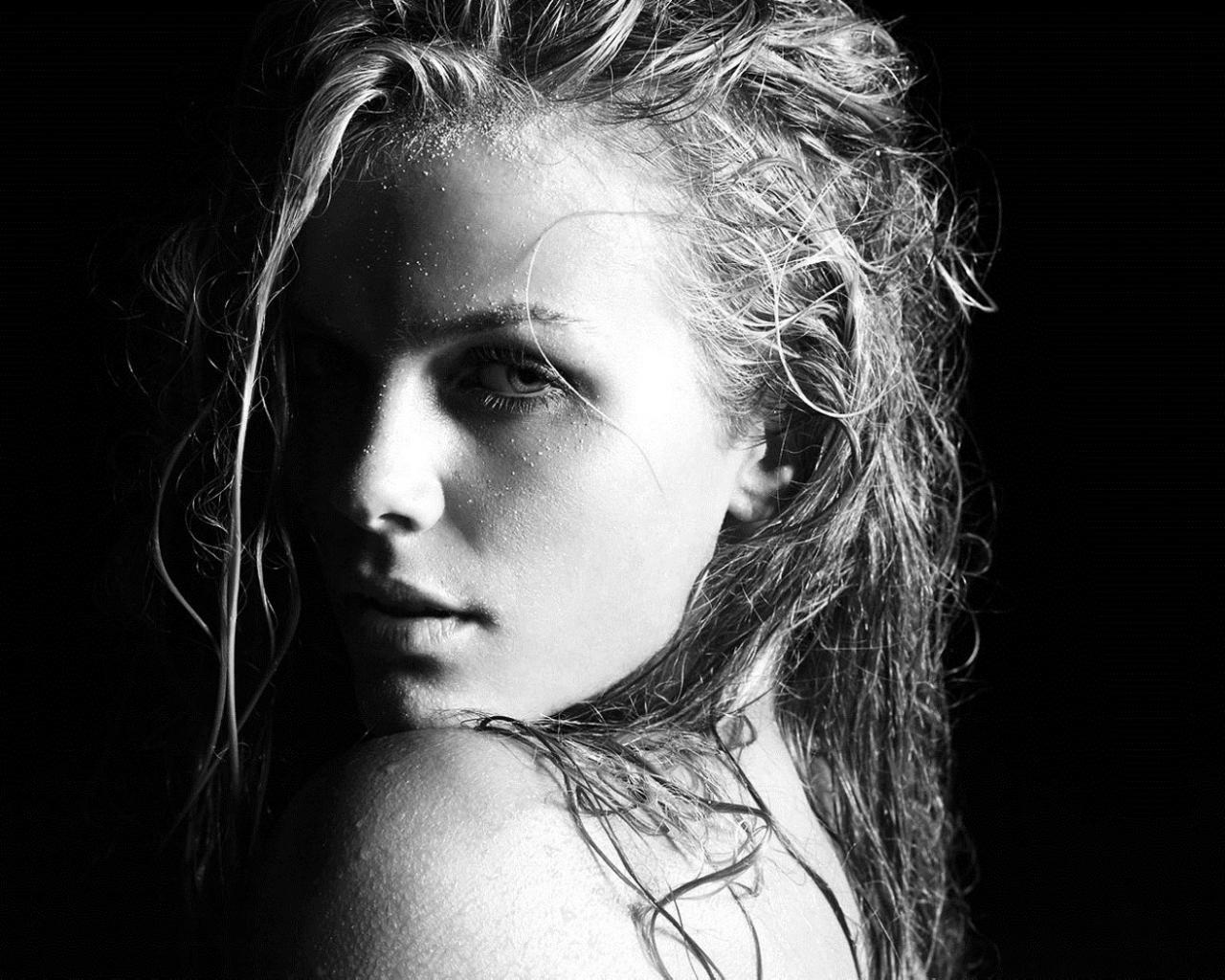 Девушки с мокрыми волосами   красивые фото (13)