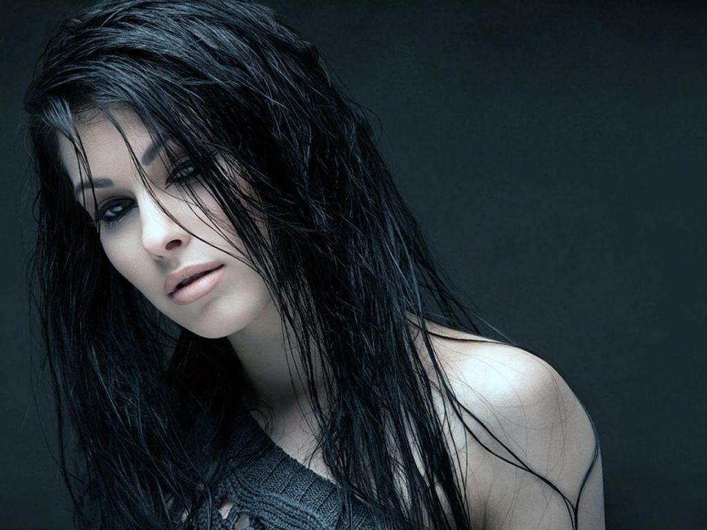 Девушки с мокрыми волосами - красивые фото (17)