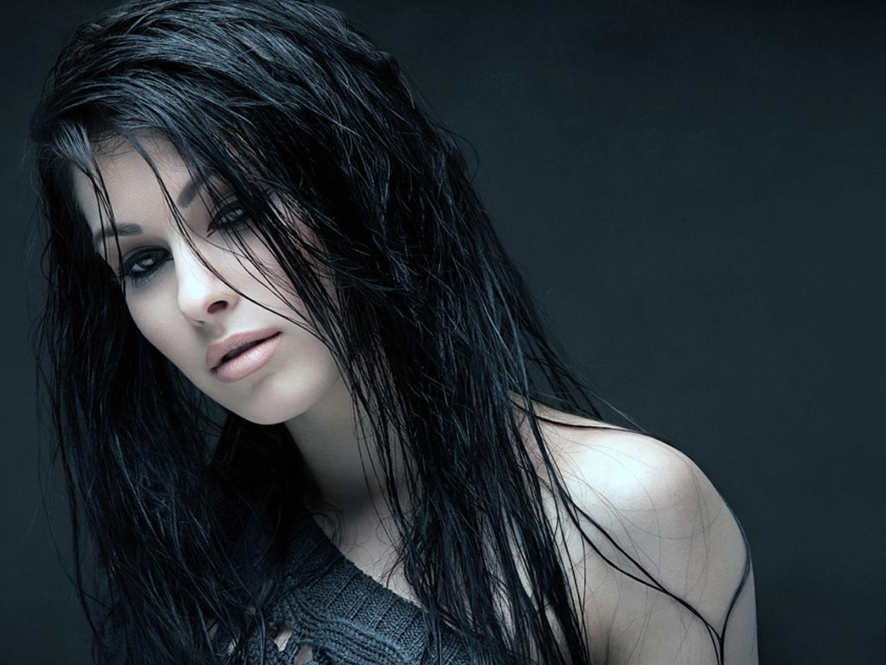 Девушки с мокрыми волосами   красивые фото (17)