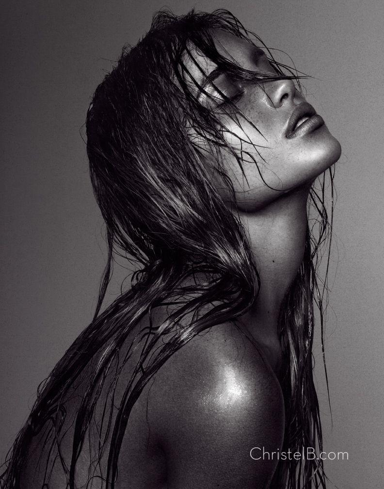 Девушки с мокрыми волосами - красивые фото (18)