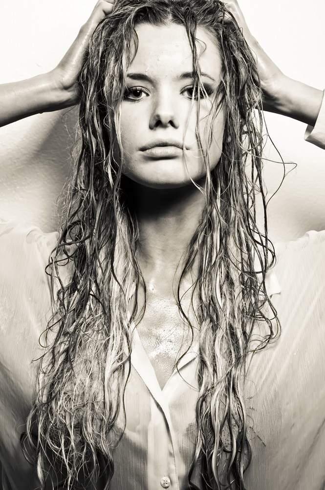 Девушки с мокрыми волосами - красивые фото (19)