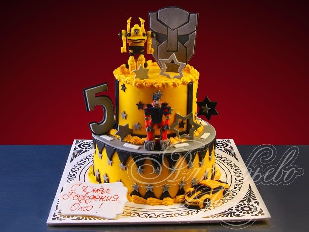 День рождения в стиле Бамблби023