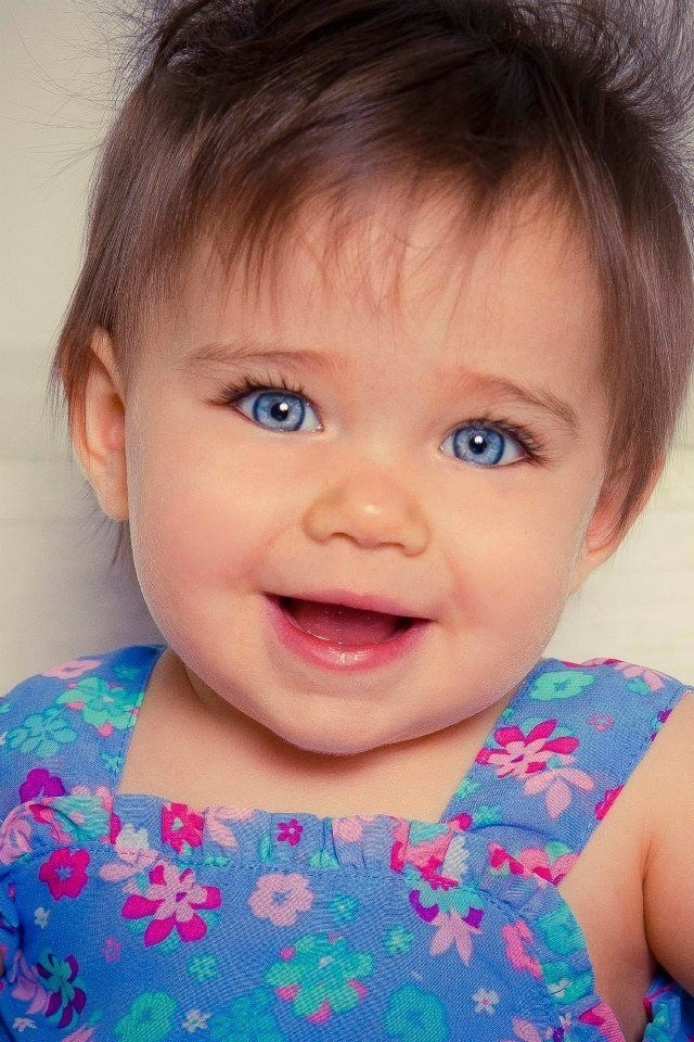 Дети маленькие с голубыми глазами001