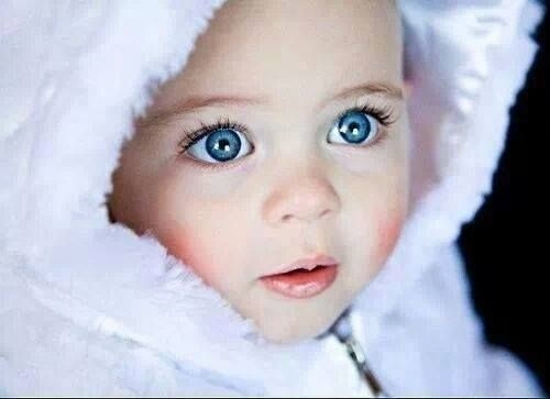 Дети маленькие с голубыми глазами012