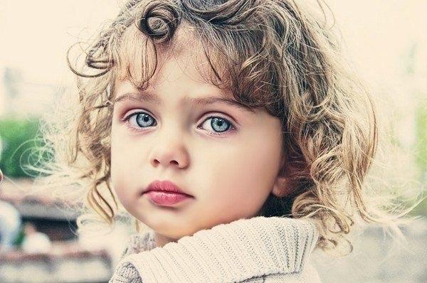 Дети маленькие с голубыми глазами017