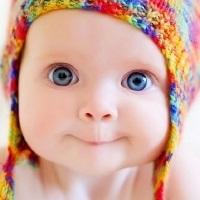 Дети маленькие с голубыми глазами021