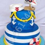 Детский торт с морской тематикой