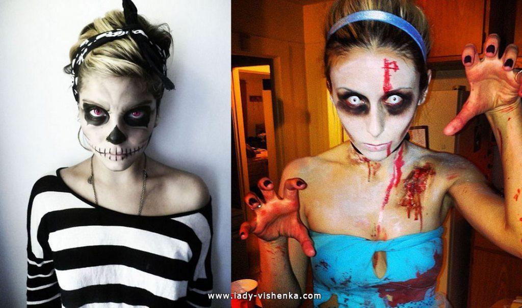 Для двоих костюмы на хэллоуин - фото идеи (16)