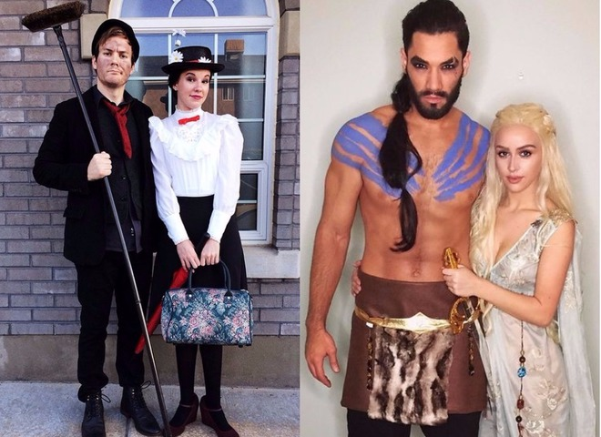 Для двоих костюмы на хэллоуин - фото идеи (19)