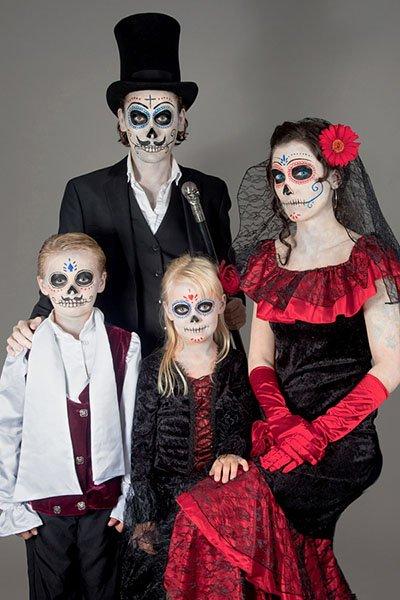 Для двоих костюмы на хэллоуин - фото идеи (3)