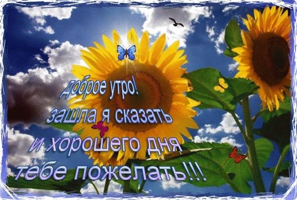 Доброе утро октября картинки и открытки018
