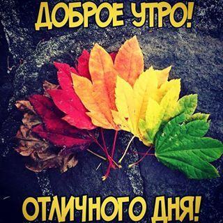 Доброе утро осенью для друзей - картинки и открытки (12)