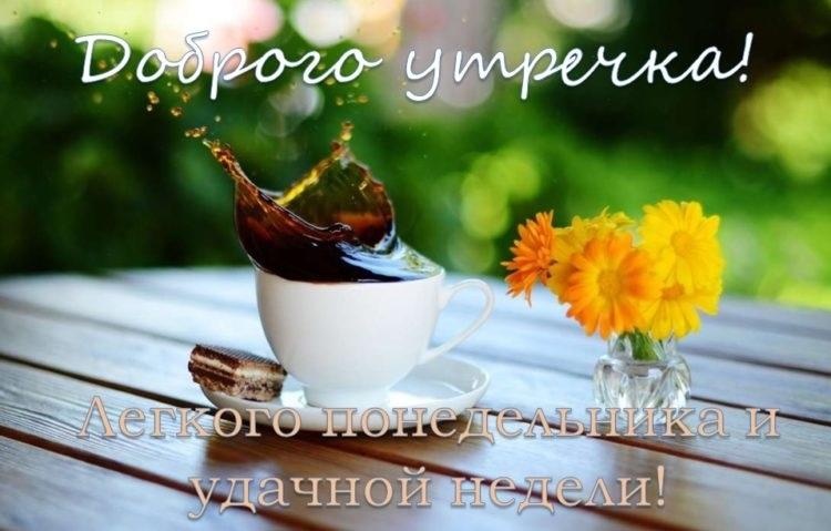 Доброе утро понедельника и удачной недели021