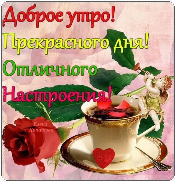 Доброе утро, хорошего дня и прекрасного настроения девушке011
