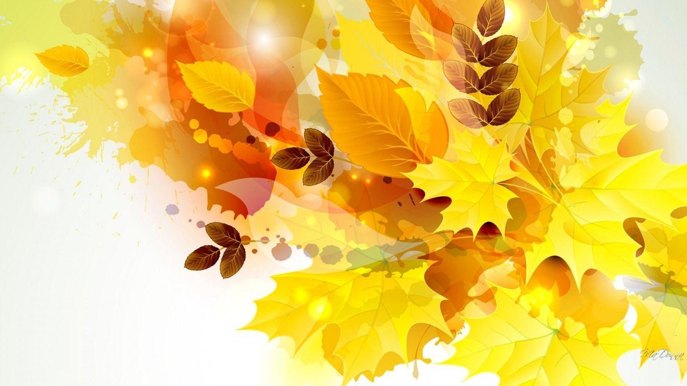Обложка осень на открытку