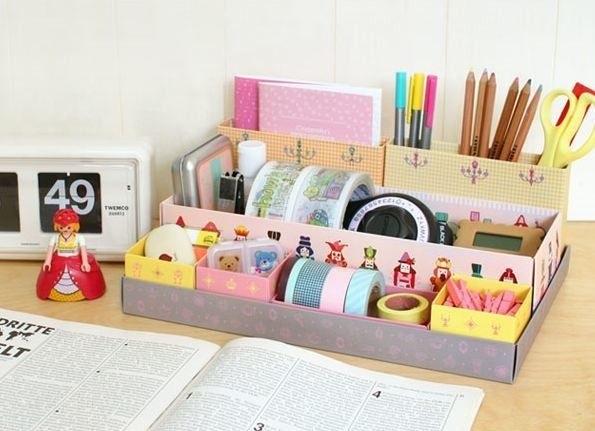 Идеи оформление рабочего стола для девочки своими руками001