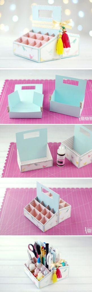 Идеи оформление рабочего стола для девочки своими руками003