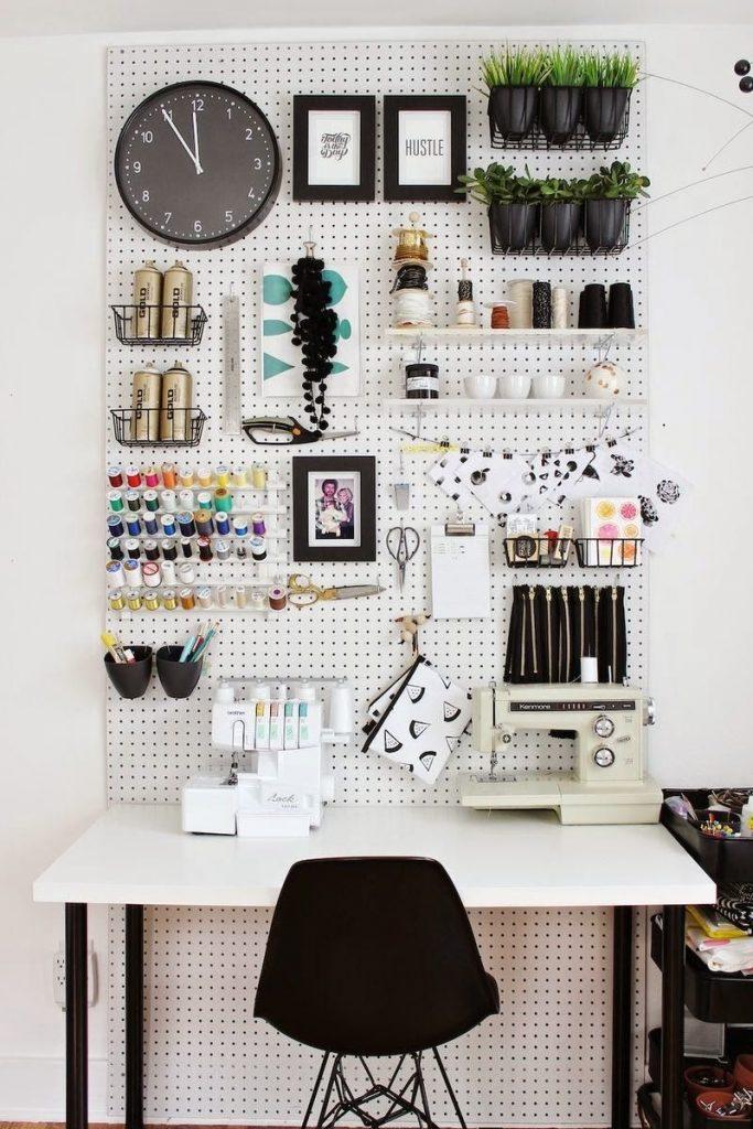 Идеи оформление рабочего стола для девочки своими руками010
