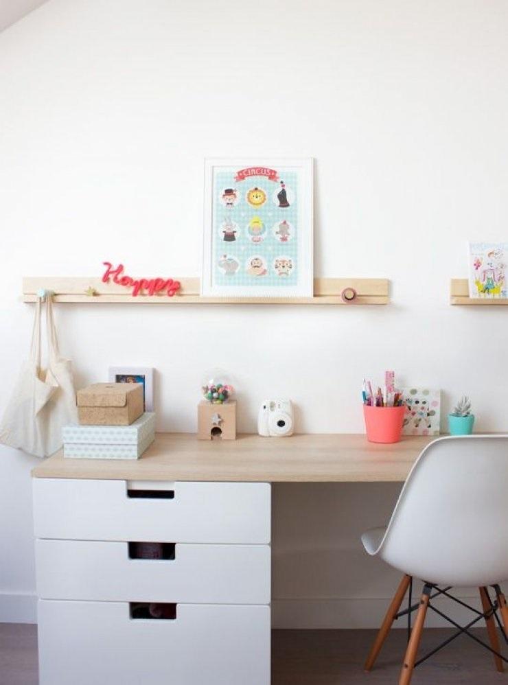 Идеи оформление рабочего стола для девочки своими руками012