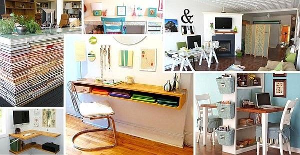 Идеи оформление рабочего стола для девочки своими руками017