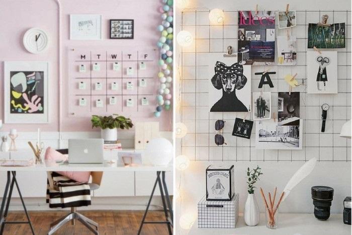Идеи оформление рабочего стола для девочки своими руками018