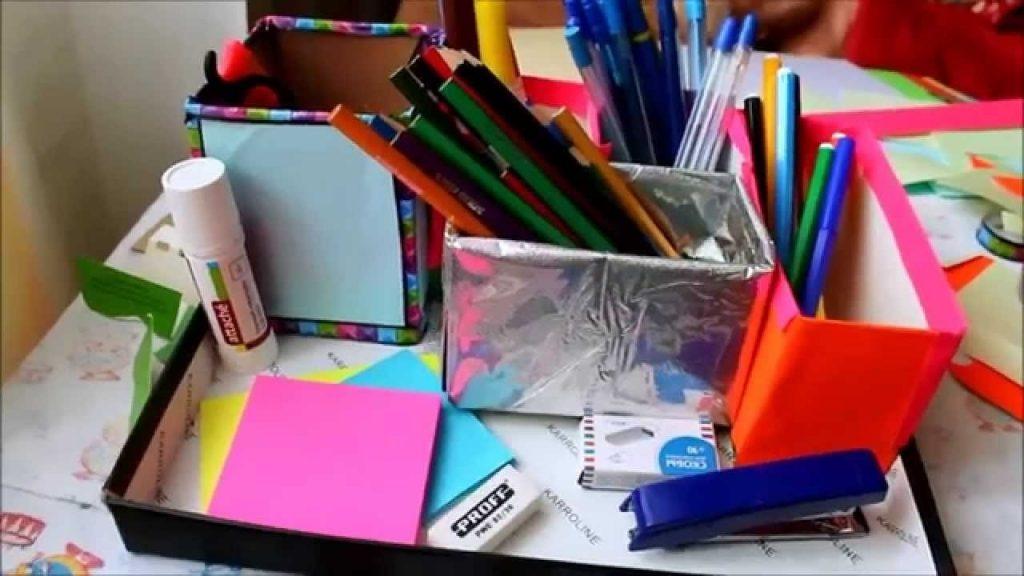 Идеи оформление рабочего стола для девочки своими руками019