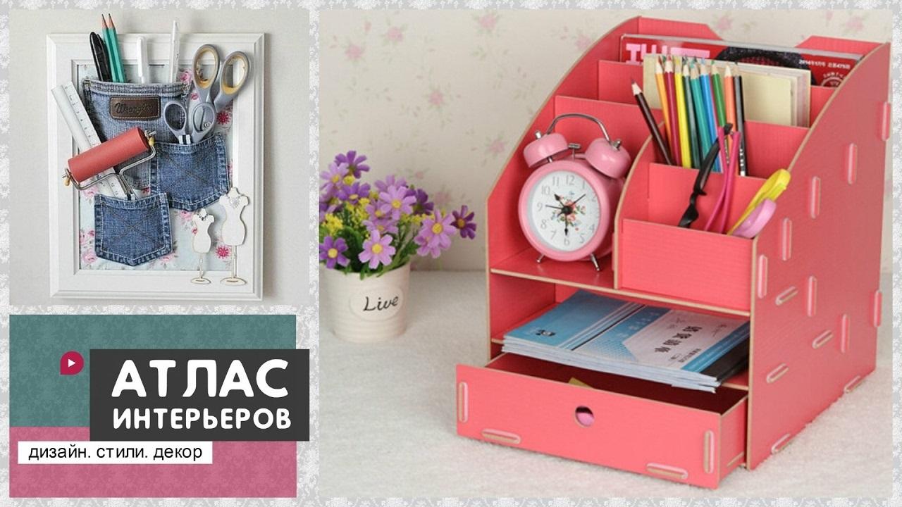 Идеи оформление рабочего стола для девочки своими руками022