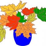 Как нарисовать вазу с осенними листьями поэтапно — подборка
