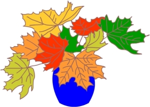Как нарисовать вазу с осенними листьями поэтапно - подборка (1)