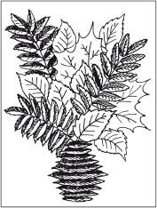 Как нарисовать вазу с осенними листьями поэтапно - подборка (18)