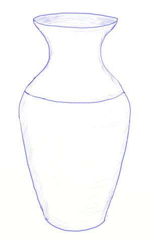 Как нарисовать вазу с осенними листьями поэтапно - подборка (20)