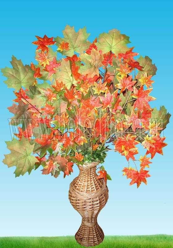 Как нарисовать вазу с осенними листьями поэтапно - подборка (3)