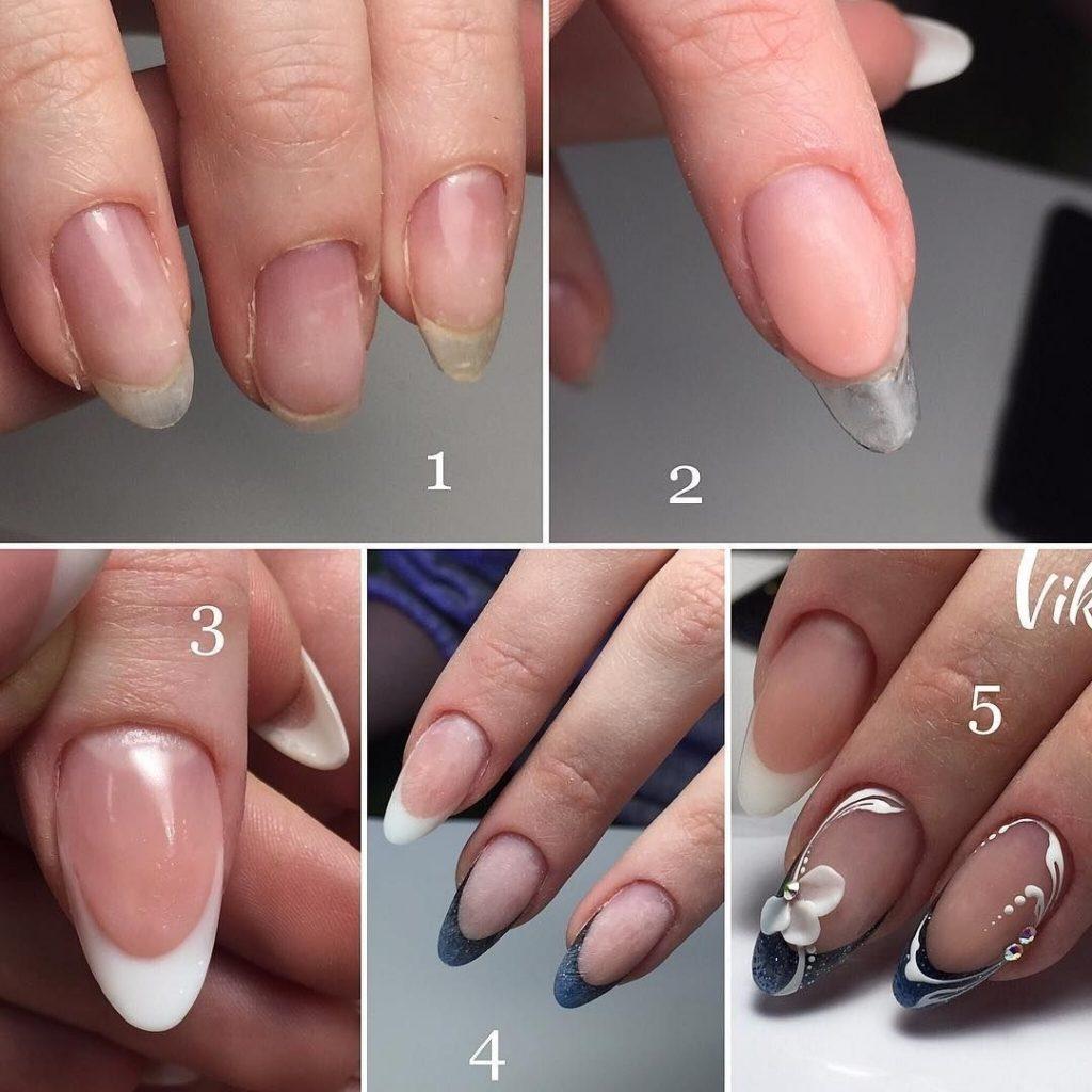 Как на ногтях нарисовать камуфляж015