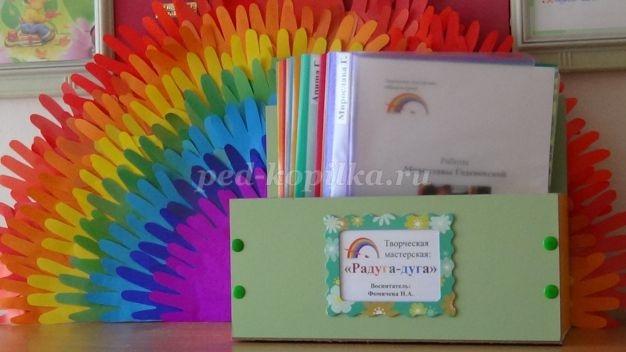 Как оформить папку для рисунков в детском саду - фото идеи001
