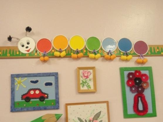 Как оформить папку для рисунков в детском саду - фото идеи003