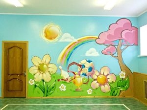 Как оформить папку для рисунков в детском саду - фото идеи008