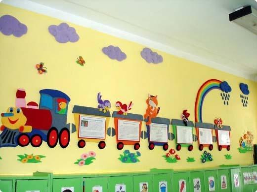 Как оформить папку для рисунков в детском саду - фото идеи018