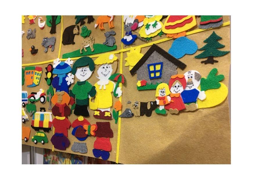 Как оформить папку для рисунков в детском саду - фото идеи020