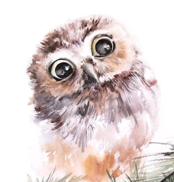 Как раскрасить гуашью сову - идеи и картинки (19)