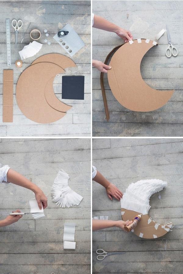 Как сделать полумесяц своими руками018