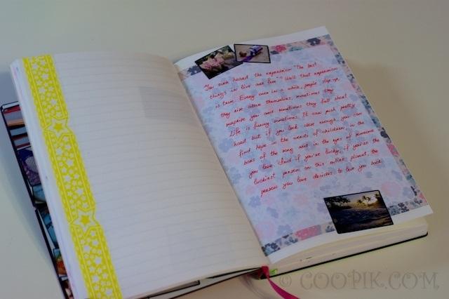 Как украсить тетрадь наклейками025