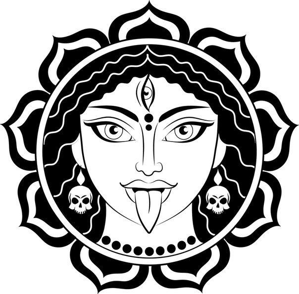 Кали богиня тату - эскизы с фото (1)