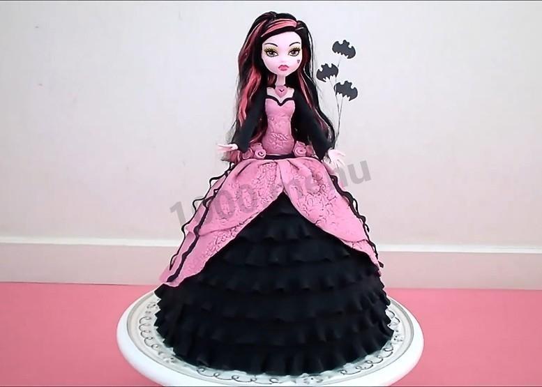 Картинка на торт Монстр Хай003